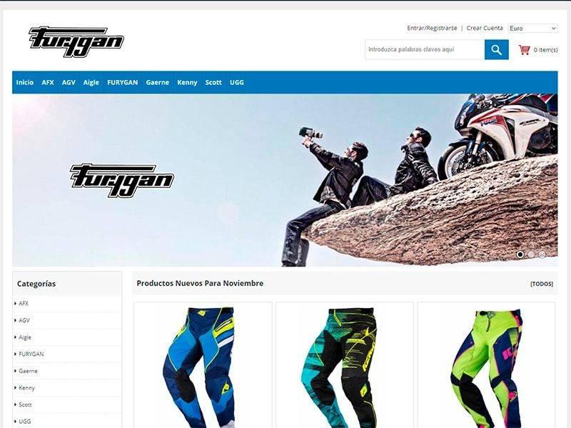 Loggia Deauville.com Tienda Online Falsa Productos Motos