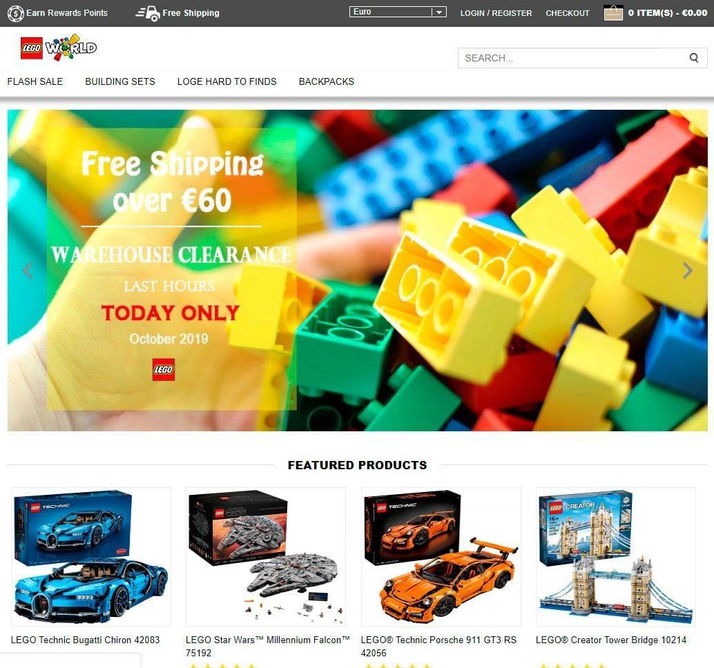 Pulanys.com Tienda Falsa Online Lego