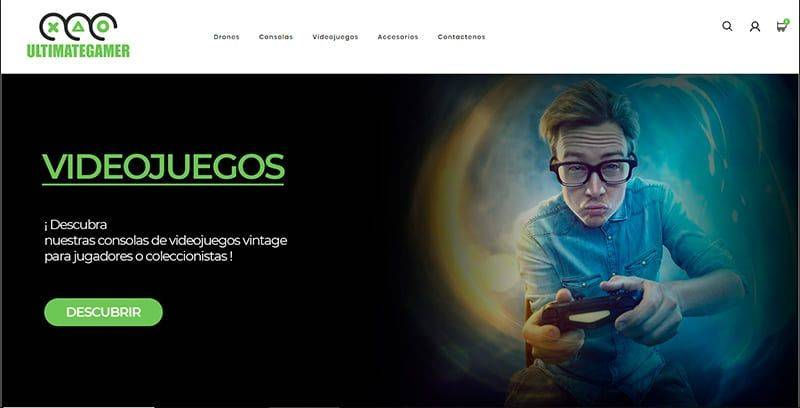 ultimate-gamer.es Tienda Online Falsa Tecnologia