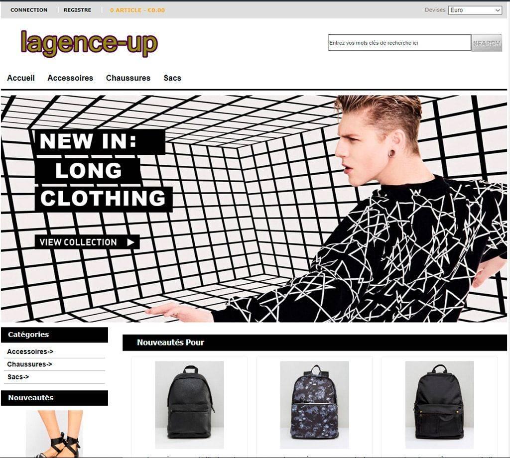 Lagence Up.fr Tienda Online Falsa Moda