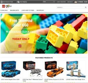 Artcky.com Tienda Falsa Online Lego