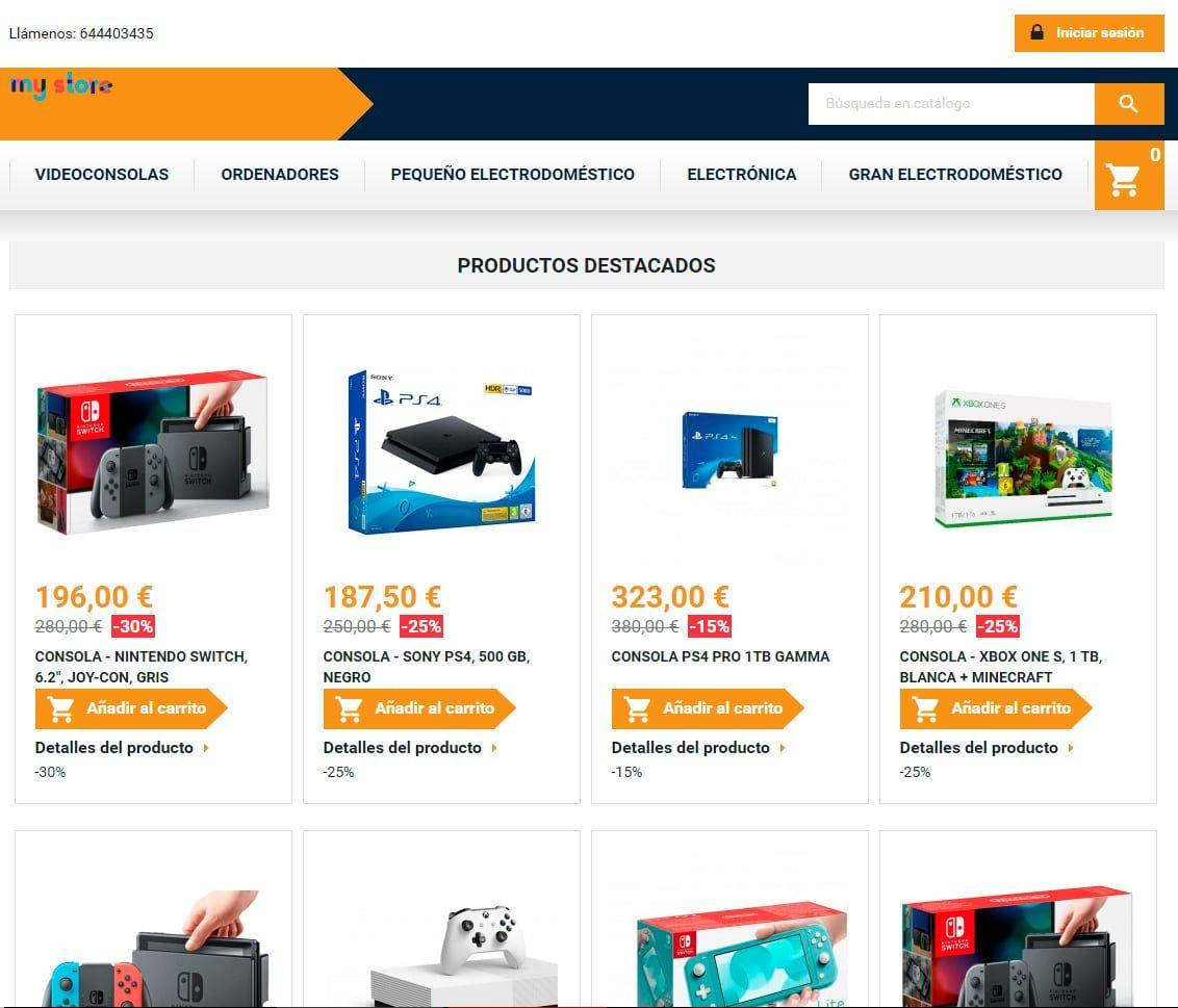 Dispositivodig.com Tienda Online Falsa Electronica