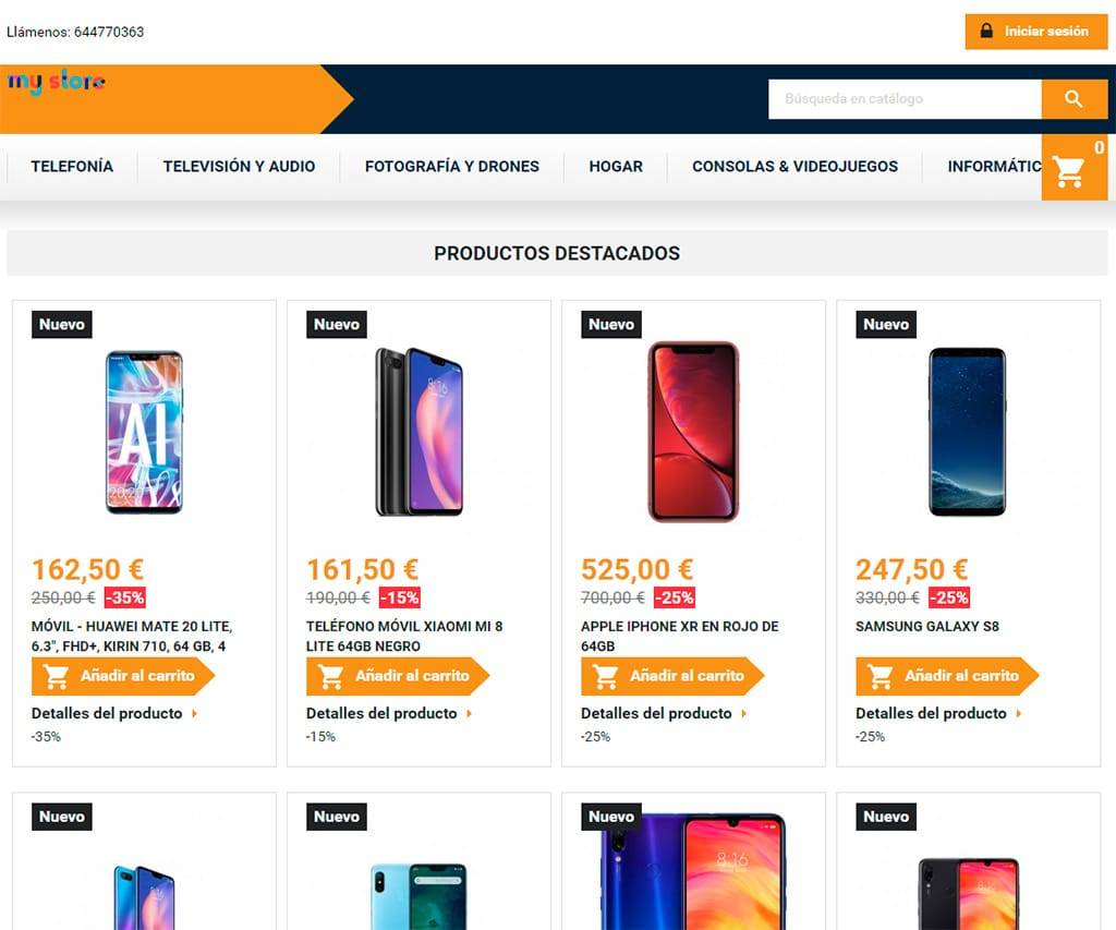 Electronica Electrodomesticos.com Tienda Falsa Online Electronica