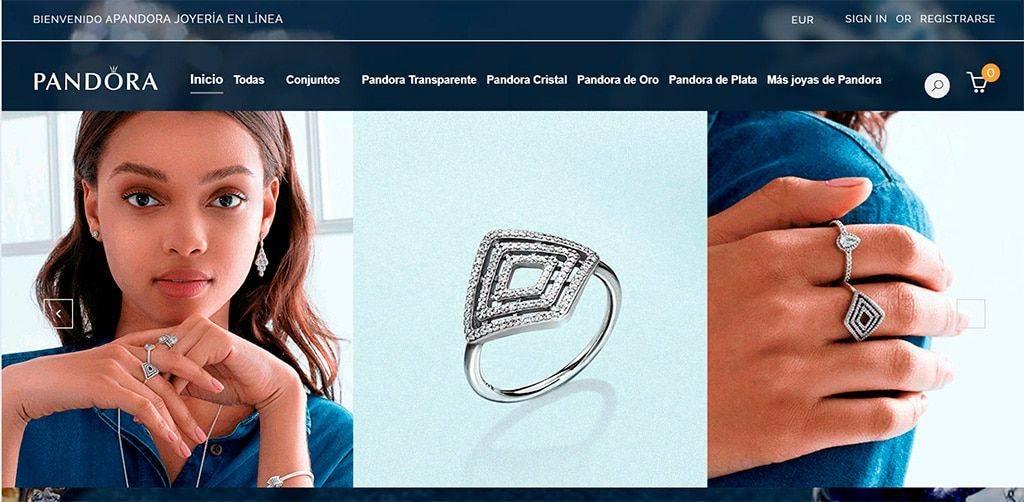 Pandoracharmsoutlet.es Tienda Online Falsa Pandora