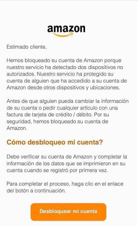 Phising Amazon Navidad