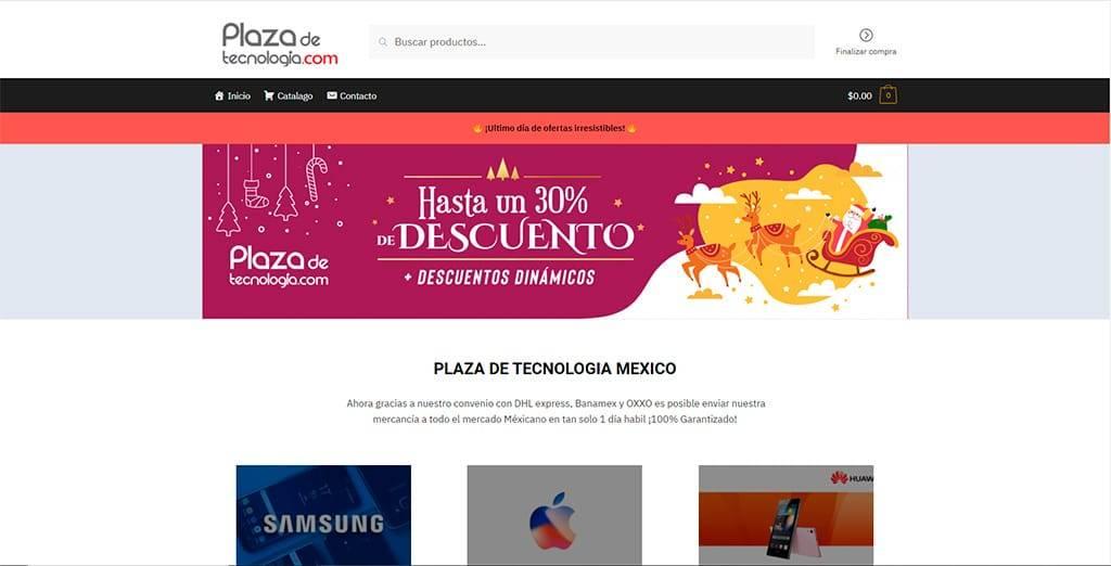 Plazadetecnologia.com Tienda Falsa Online Electronica