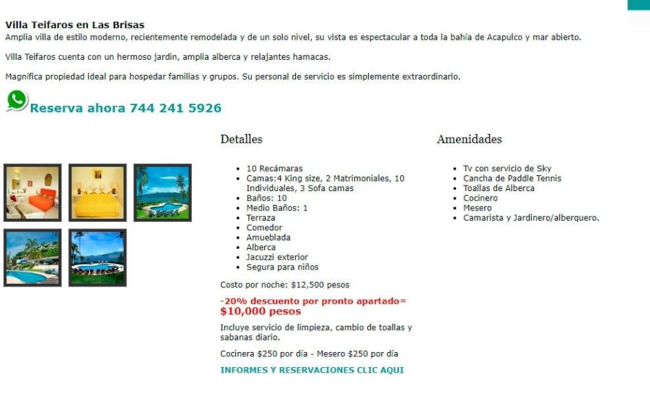 Villasmocambo.com Scam Rental Houses And Apartments