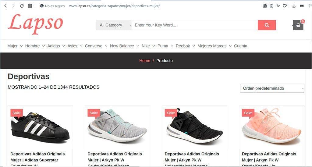 Lapso.es Tienda Online Falsa Zapatillas
