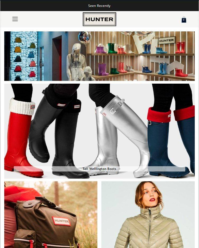 Rainbootshop.club Tienda Online Falsa Hunter