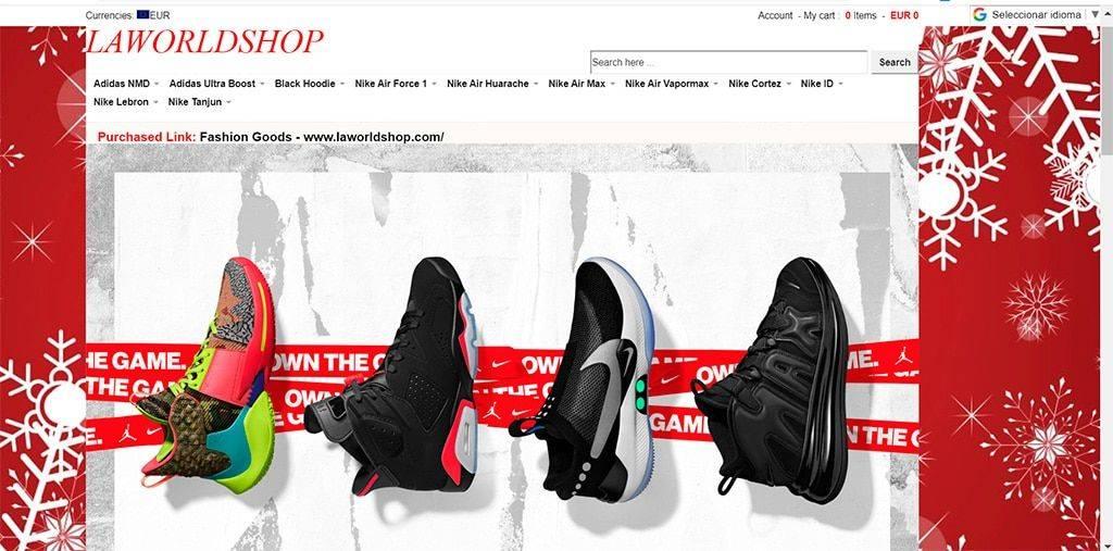 Laworldshop.com Tienda Online Falsa Zapatillas Deportivas