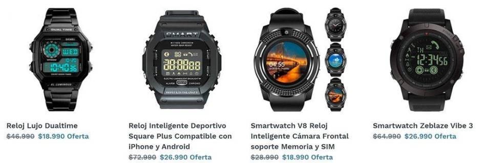 Relojeriachilena.com Tienda Online Falsa