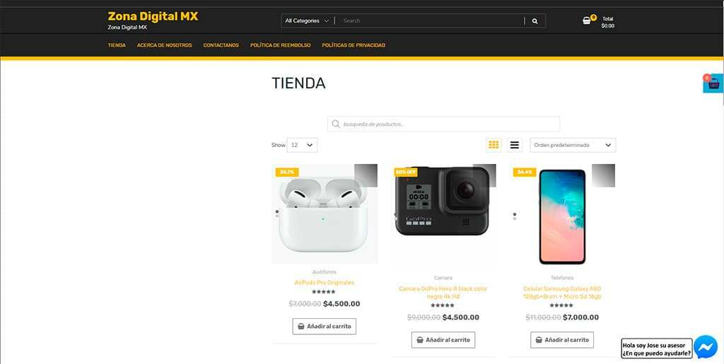 Zonadigitalmx.com Tienda Online Falsa Electronica