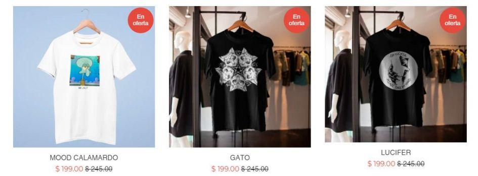 Gatonocturno.com.mx Fake T Shirt Online Shop