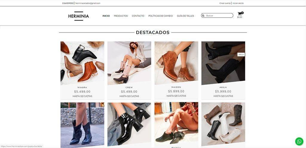 Herminiastore.com Tienda Online Falsa Calzado