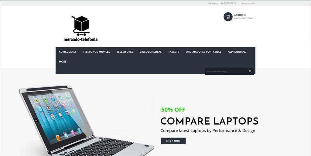 Mercado Telefonia.com Tienda Online Falsa Tecnologia