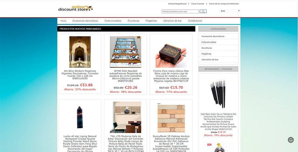 Vitalbioenergetica.com Tienda Online Falsa Multiproducto