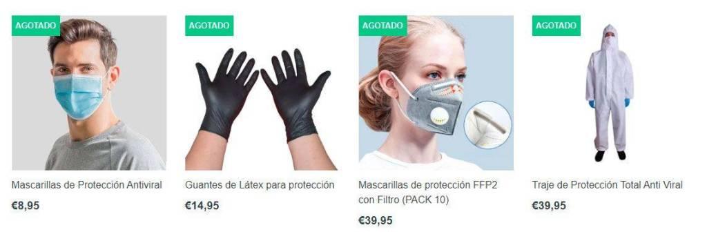 Healybrand.com Tienda Online Falsa Mascarillas