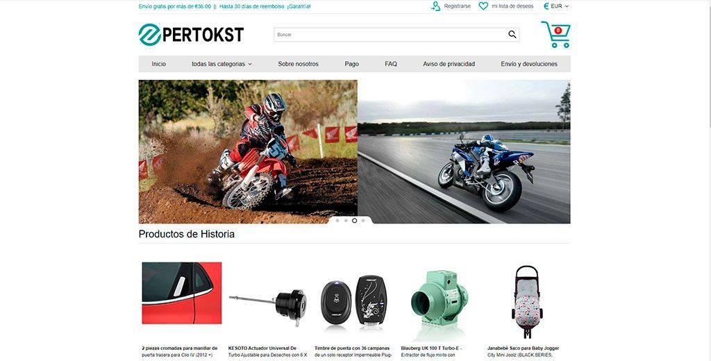 Pertokstore.com Tienda Online Falsa Multiproducto