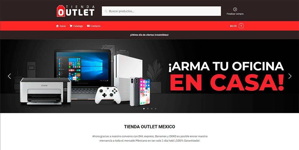 Tiendaoutletmx.com Tienda Online Falsa Tecnologia