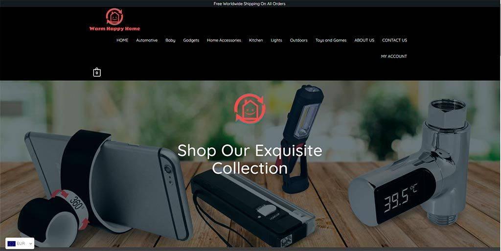 Warmhappyhome.com Tinenda Online Falsa Multiproducto