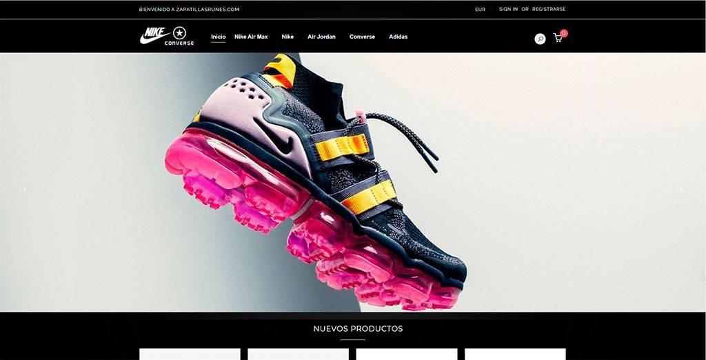 Zapatillasrunes.com Tienda Online Falsa Zapatillas Deportivas