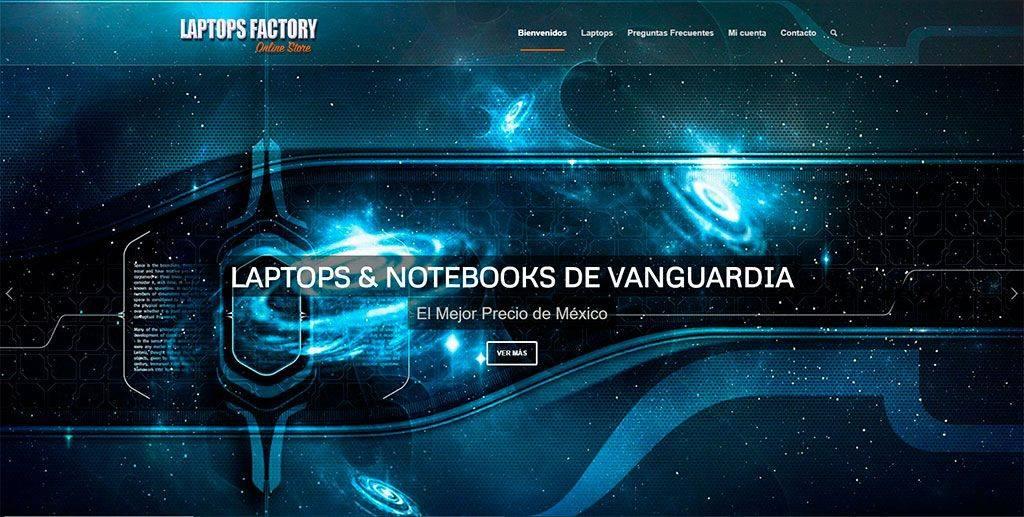 Laptops Factory.com Tienda Online Falsa Portatiles