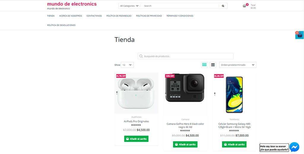 Mundodeelectronics.com Tienda Online Falsa Electronica