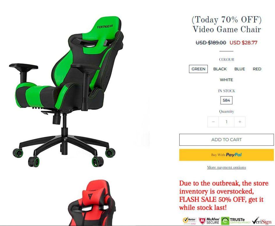 Sandrkxi.com Fake Multi Product Online Shop