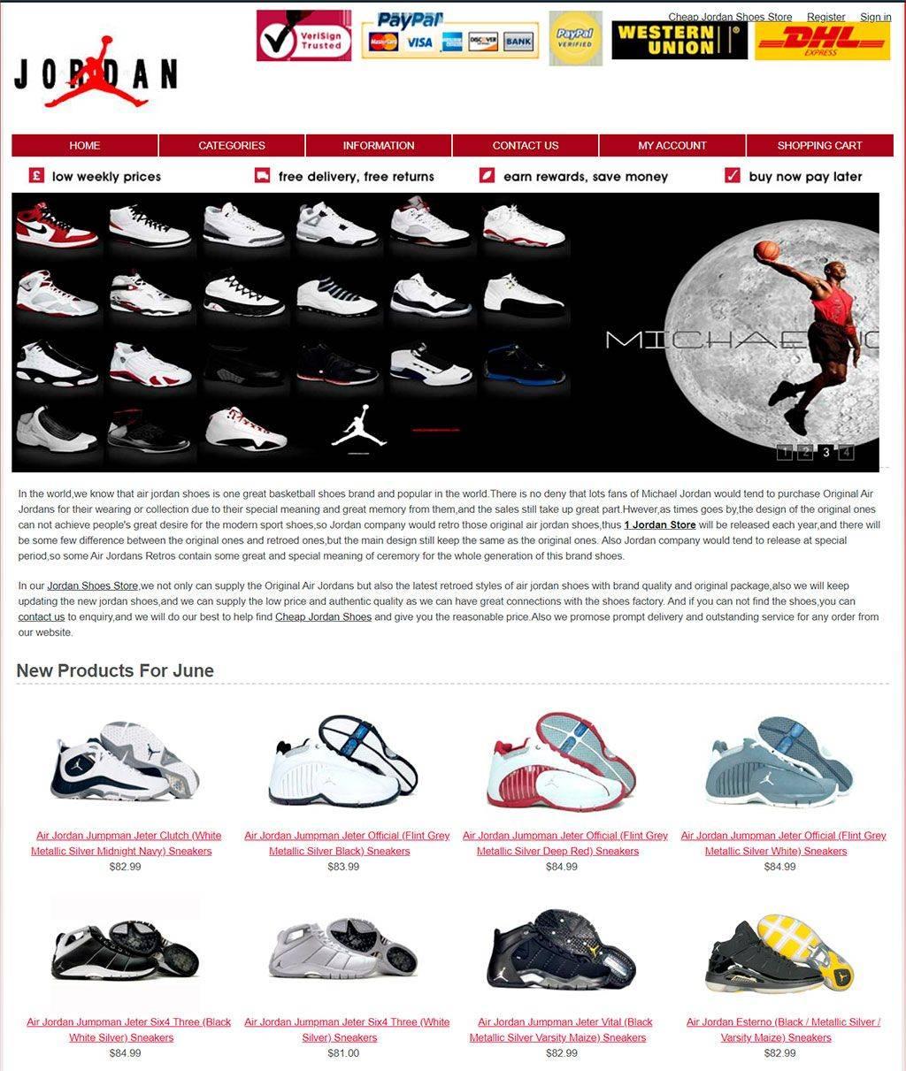 1jordanstore.com Tienda Online Falsa Zapatillas Nike Jordan
