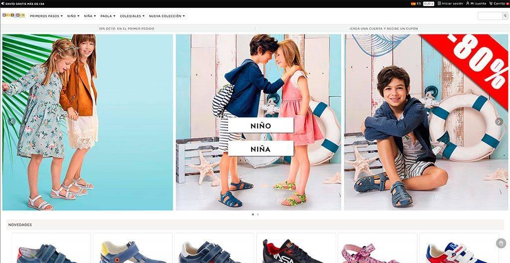 Calzadoninos.online Tienda Online Falsa Calzado Pablosky