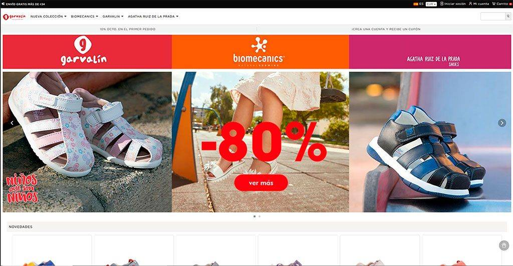 Zapatonino.ru Tienda Online Falsa Zapatos Ninios