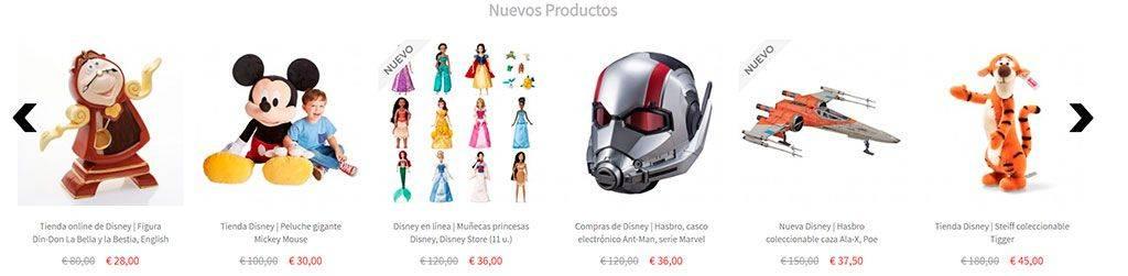 Juguetedisney.com Tienda Online Falsa