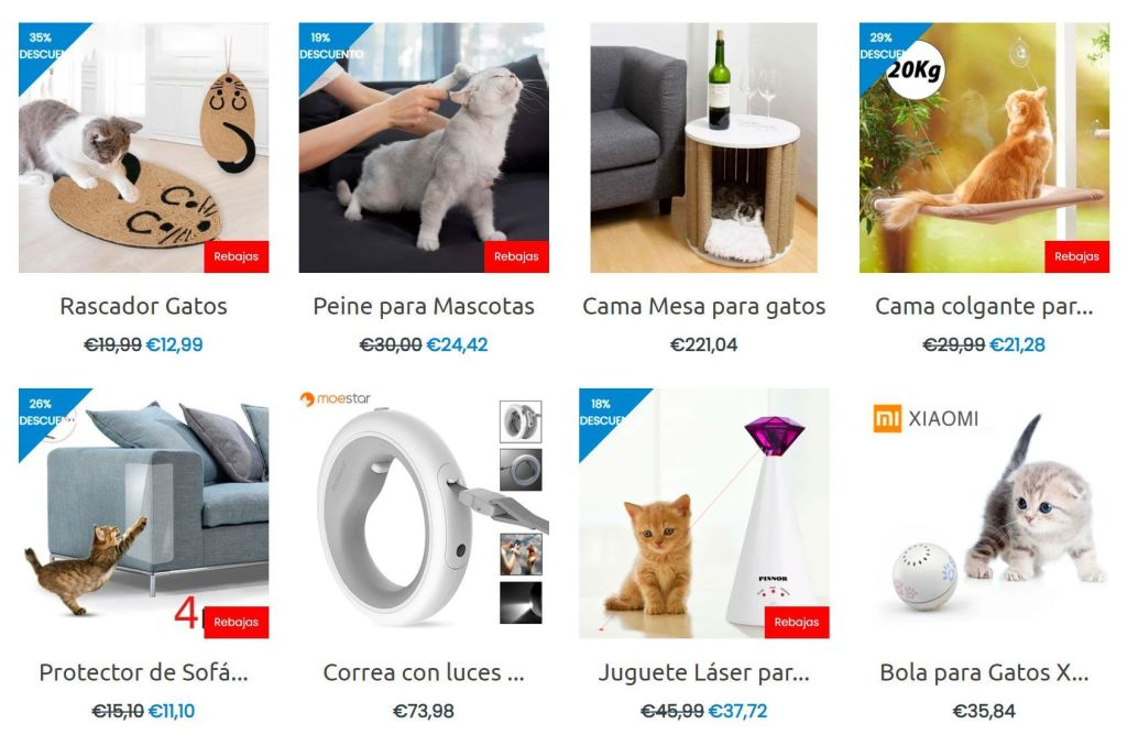 Mumushop.es Fake Multi Product Online Shop