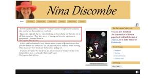 Nina Discombe   Author
