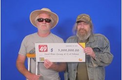 Jackpot winners