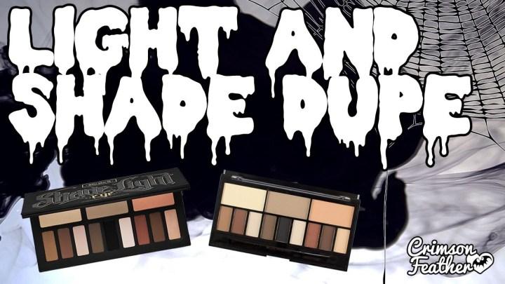 Clone Wars: Kat Von D vs MakeUp Revolution Light & Shade Palette