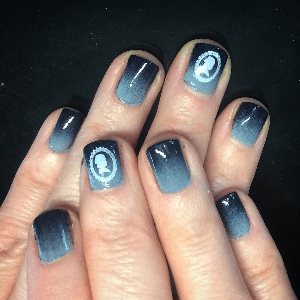 Manicure Monday – Grey Scale