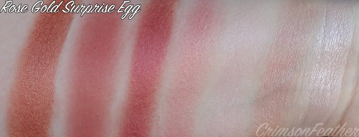 Rose-Gold-Surprise-Egg-I-Heart-Revolution-Swatches