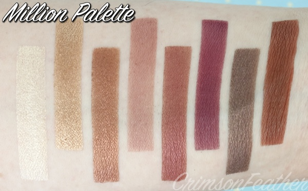 Revolution-Million-Palette-Swatch