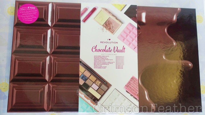 I Heart Revolution Chocolate Vault  Review – Part 1