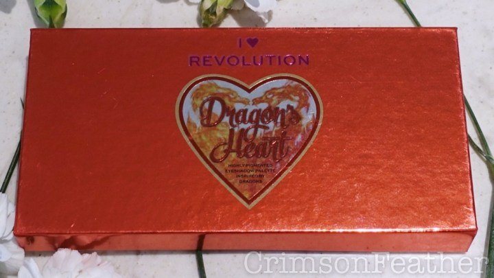 I Heart Revolution Dragons Heart Palette Review and Swatches