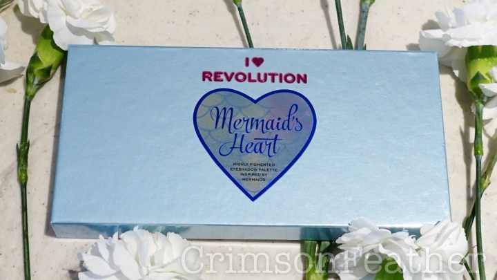 I Heart Revolution Mermaids Hearts Palette Review and Swatches