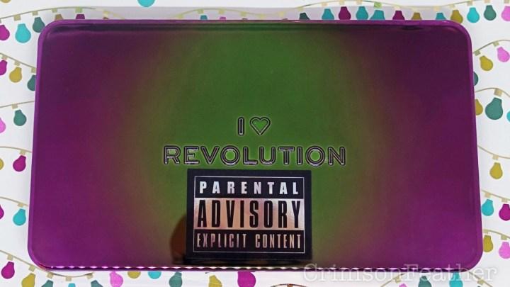 I Heart Revolution Parental Advisory Eyeshadow Palette
