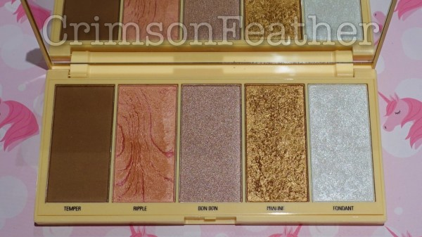 I-Heart-Revolution-Praline-Chocolate-Face-Palette-Inside
