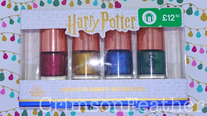 Harry Potter Hogwarts House Nail Polishes Review and Swatches