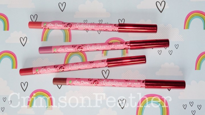 Lime Crime Velvetines Lip Liners Review & Swatches – Minx, Petunia, Poison & Poppy