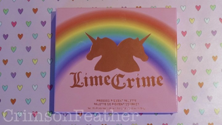 Lime Crime 10th Birthday Shadow Palette Review & Swatches