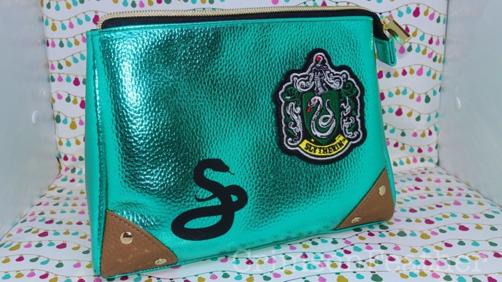 Harry Potter Wizarding World Slytherin MakeUp Bag