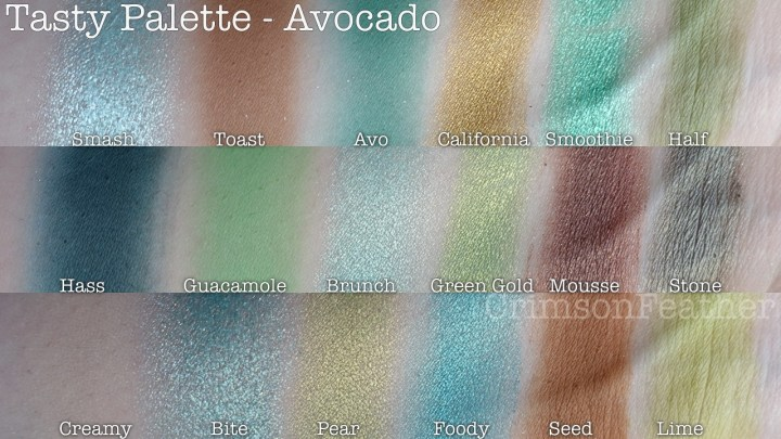 I-Heart-Revolution-Tasty-Avocado-Palette-Swatch