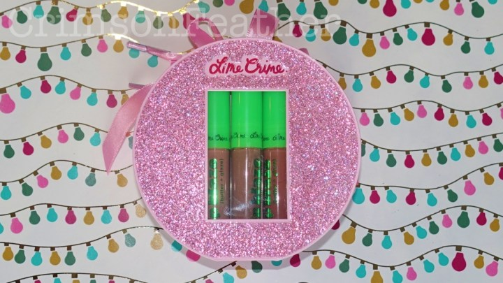Lime Crime Mini Lip Blaze Holiday Set – Blazin' Holiday – Review and Swatches